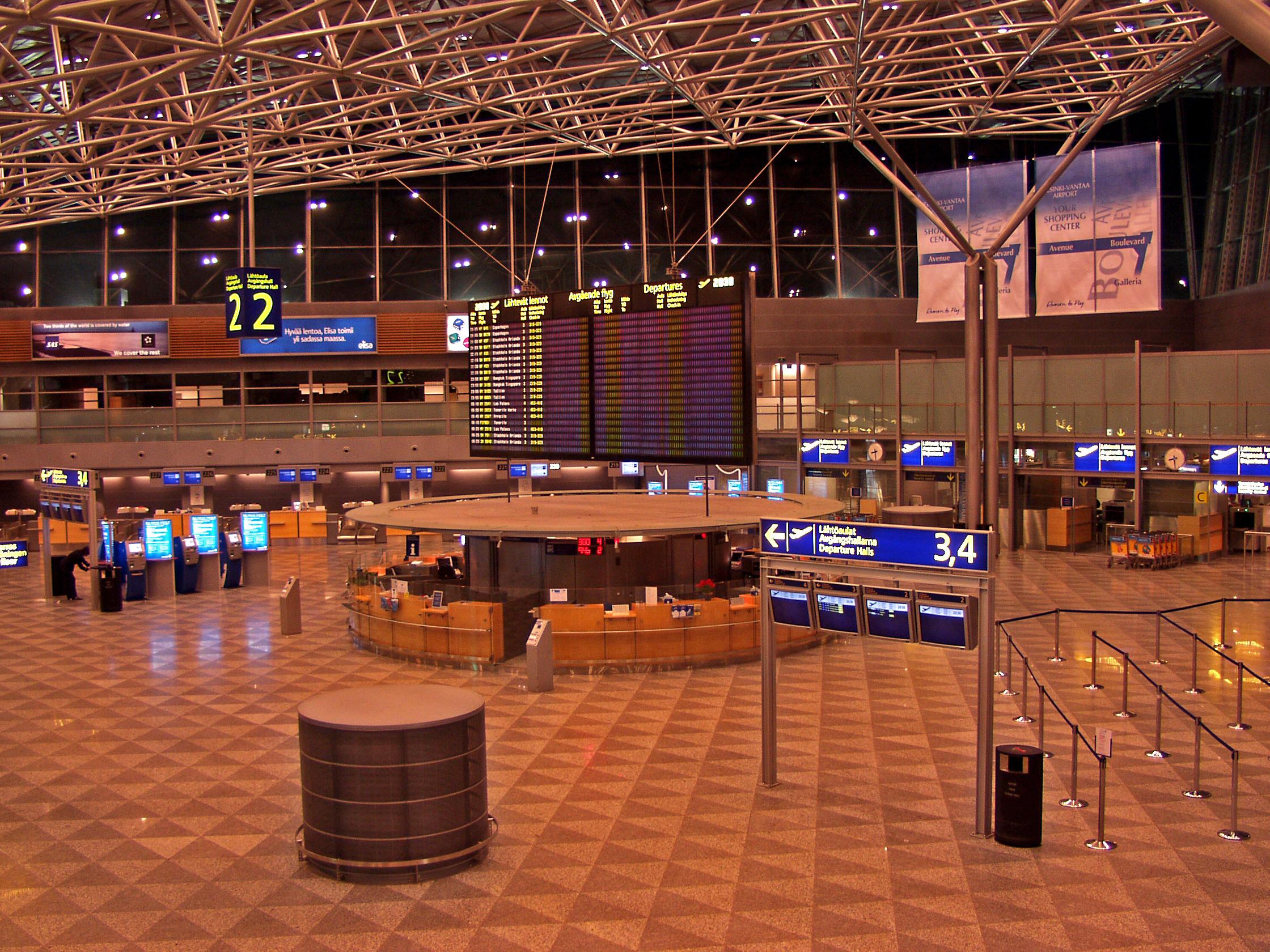 helsingin lentokenttä Heinola