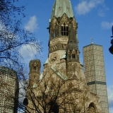The Gedächtniskirche in Berlin
