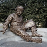 Statue of Albert Einstein