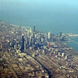 Aerial picture of Chicago