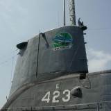 The submarine USS Torsk