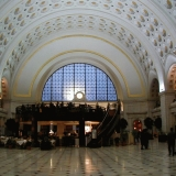 The Union Station hall