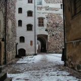 The inner yard of the Turku castle