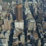 The eastern view from the Empire State Building