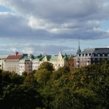 Buildings at Kaivopuisto