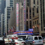 The Radio City Music Hall and the Avenue of the Americas