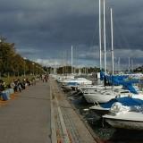 The Merisatama port