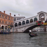 The Rialto bridge on the Grande Canale
