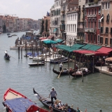 Gondolas at the Grande Canale