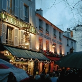 Houses at Place du Tertre at Montmartre