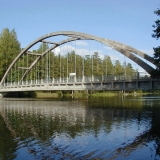 The Savukoski bridge
