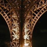 A leg of the Eiffel tower
