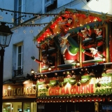 A christmas shop at Montmartre