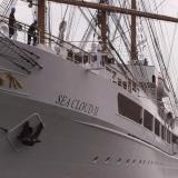 Sea Cloud II -purjevene Eteläsatamassa