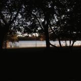 Eläintarhanlahti bay at dusk