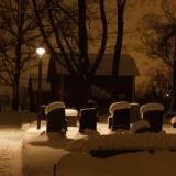The graveyard of the Helsinki Parish church