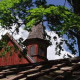 Tile roof and a bell tower