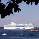 Silja Linen ruotsinlaiva Kruunuvuorenselällä
