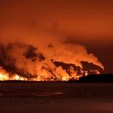 Metsä-Botnia paper mills smoke at Pajusaari island