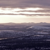 Arctic hills at Saariselkä and Sompio