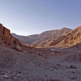The Valley of the Queens next to the Valley of the Kings