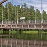 Detail on the Savukoski bridge