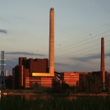 Salmisaari coal electric plant