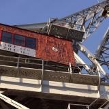 A dock yard crane