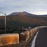 Teide and the village of Santiago del Teide