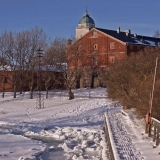 Suomenlinna at winter