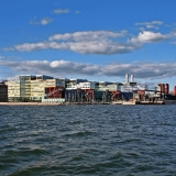 Ruoholahti from the sea