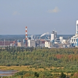 Metsä-Botnian tehtaat Pajusaaressa