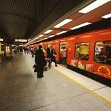 Metro Hakaniemen asemalla