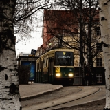 Tram 8 at Vallila terminus