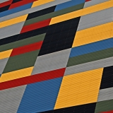 Pattern on the facade of Heltech building