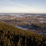 City of Kuopio seen from Puijo tower