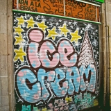 Ice cream graffiti