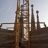 Construction at Sagrada Familia