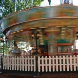 Carousel at Linnamäki amusement park