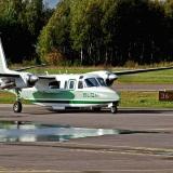 FM-Kartta Oy:n Rockwell 690A Turbo Commander (OH-UTI)