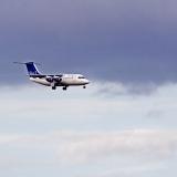 Blue 1 BAE Systems Avro 146-RJ85 (OH-SAH)