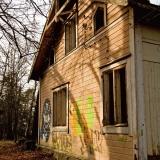 Abandoned house at Kruunuvuori