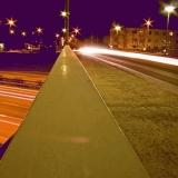 Katajaharjuntie street crosses Länsiväylä highway