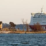 Viking Linen M/S Mariella ohittaa Katajanokanluodon