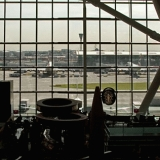 New terminal 5 at Heathrow airport