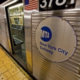 New York subway car