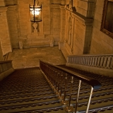 Stairs at the New York public library