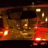 In a cab