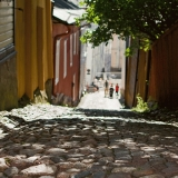 Ralinginkuja alley in Porvoo old town