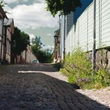 Vuorikatu Porvoon vanhassakaupungissa